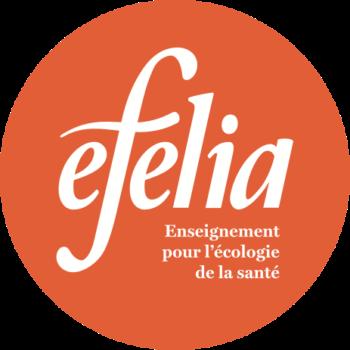 Efelia text round orange